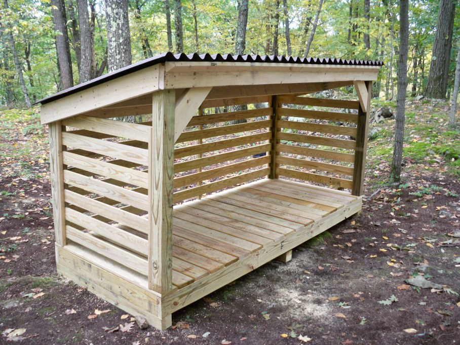 Description plans to build a firewood storage shed sanki for Build your own pole barn
